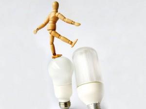 Lampadas e ideias
